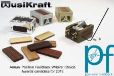 Audio MusiKraft Phono Cartridge Positive Feedback Writer's Choice Awards Candidate 2018